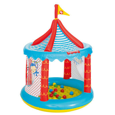 Bestway Kids Children Circus Ball Pit Inflatable Fisher Price 104x137 cm 93505
