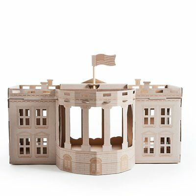 Poopy Cat Play House Toy Activity Centre Hideaway Landmarks White House LNWHIT