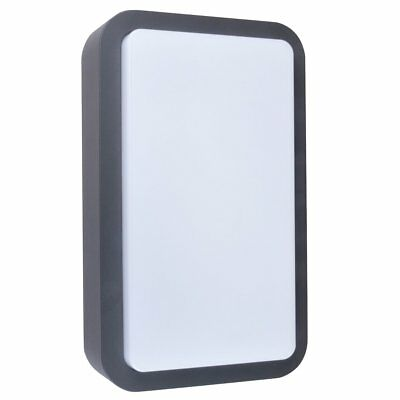SMARTWARES LED Wall Light Lamp Outdoor Garden Decor 7 W Anthracite GWI-001-HS