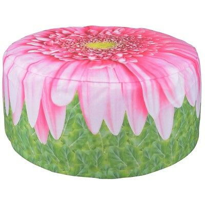 Esschert Design Inflatable Outdoor Pouffe Waterproof Gerbera Daisy 58 cm BK015
