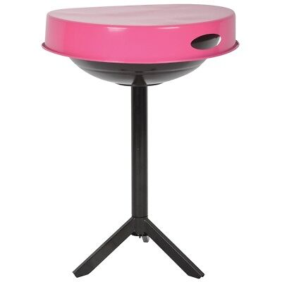 Esschert Design BBQ Table Cooking Grill Outdoor Camping Carbon Steel Pink FF250