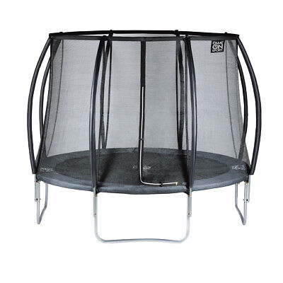 Game On Sport Trampoline with Safety Net Black Line 244 cm Kids Children 0723081
