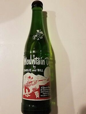 Mountain Dew Bottle unopened Charlie and Bill (Rare)