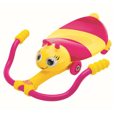 AK Sports Children Kids Pedal Go Kart Riding Vehicle Bee Pink and Yellow K02