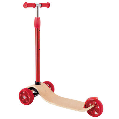Hape Toy Street Surfer Baby Children Kids Riding Kicking Scooter Red E1053