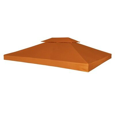 New Outdoor Gazebo Cover Canopy Top Cover Replacement 270 g / m?Terracotta 3x4m