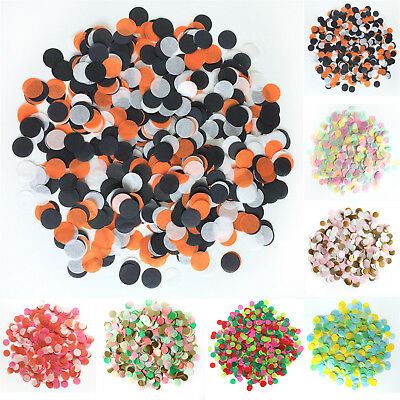 1 Pack Tissue Round Paper Throwing Confetti Party Wedding Table Supplies New WOW