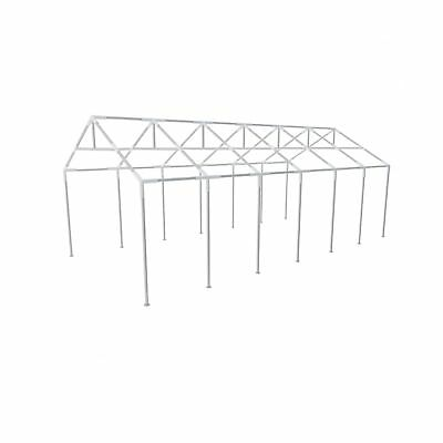New Durable Steel Frame Outdoor Party Tent 12 x 6 m Stakes and Ties Included