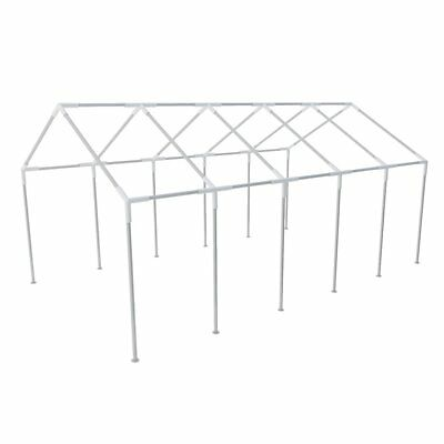 New Rust-Resistant Steel Frame for Party Tent 10 x 5 m Stakes and Ties Included
