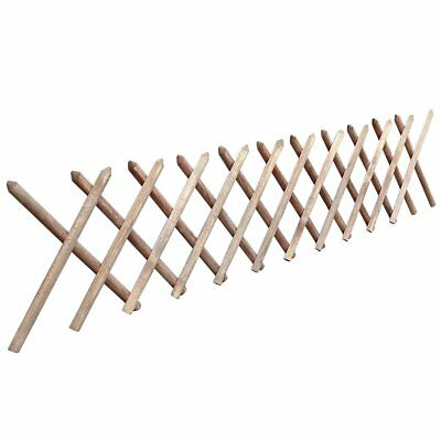 Expanding Wooden Garden Wall Fence Trellis Plant Growing Climb Panel Support