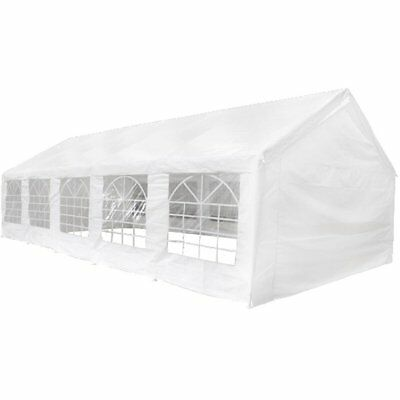 New Durable Party Tent Top Side Panels 10 x 5 m White Outdoor High-quality