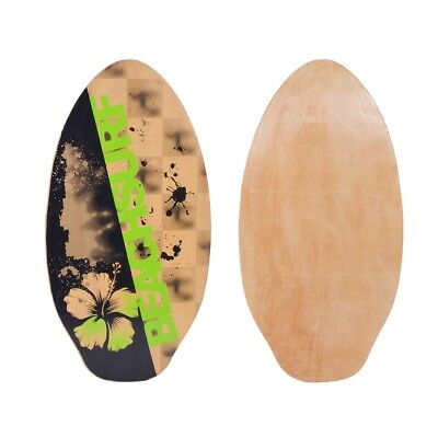 vidaXL Skimboard Multicolour 104 cm Plywood Flower Design Adults Children Surf