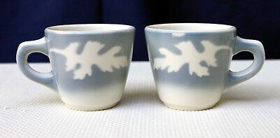 Two Syracuse Oakleigh Vintage (1965) Restaurant Ware Cups
