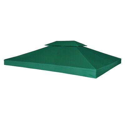 New Outdoor Gazebo Cover Canopy Top Cover Replacement 270g/m?Green 3 x 4 m
