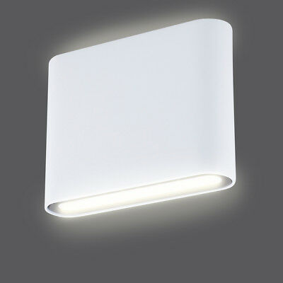 SMARTWARES Up and Down LED Wall Light Lamp In/Outdoor 9 W White GWI-003-DH