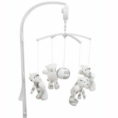 Baninni Nursery Cot Crib Cradle Musical Mobile Toy Sounds Play Bear BNMM007-BEAR