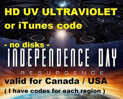 INDEPENDENCE DAY 2: RESURGENCE (2016) - Please READ the description in photo