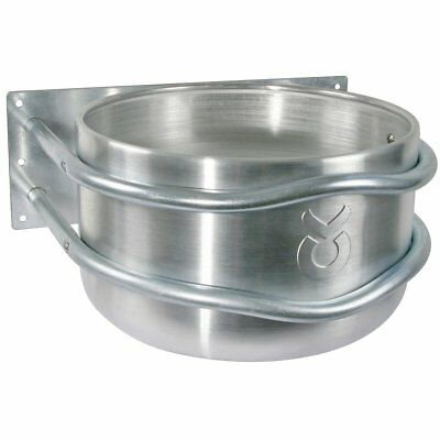 Kerbl Chicken/Poultry/Pet/Animal Feed Bowl Food Water Container 18 L Mount 32495