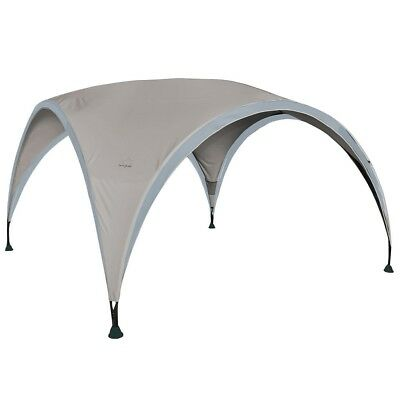 Bo-Garden Party Shelter Canopy Sunscreen Awning Waterproof Large Grey 4472200
