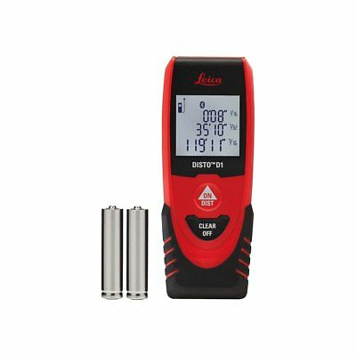 Leica Digital Laser Point Distance Meter Measure Disto D1 40 m Bluetooth 843418