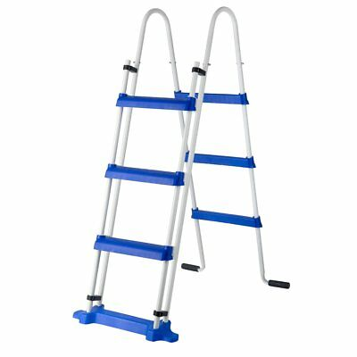 Gre 3-Step Above-ground Swimming Pool Safety Ladder Non-slip 120 cm ES1100