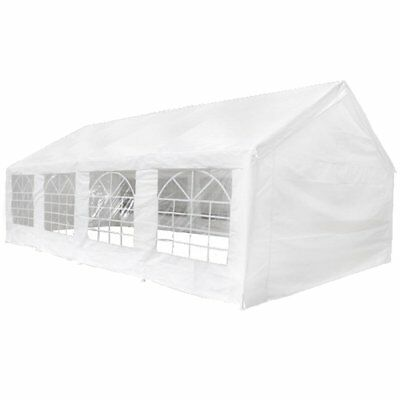 Gazebo Canopy Tent Top and Side Panels for 8x4 m Marquee Garden Outdoor Events