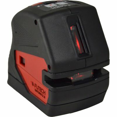 Futech Crossliner Laser Level with 2 Red Laser Lines Saturn 2.5 Red 012.25