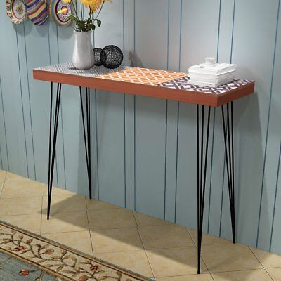 vidaXL Console Table Side Table Telephone Stand Sideboard 90x30x71.5 cm Brown