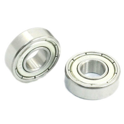 10 Pcs 698Z Sealed Deep Groove Radial Ball Bearings 8Mm X 19Mm X 6Mm KW