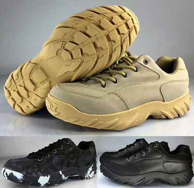 Mens SWAT Mountaineering Outdoor Hiking Camping Tactical Shoes Combat Military