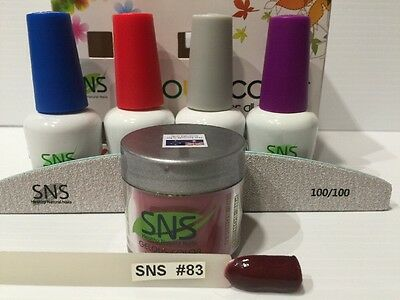 SNS Signature Nail System: 83 LOVE AT FIRST SIGHT Full Kit With SNS Nail File