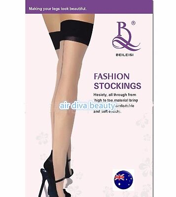 Women Sexy Backside line leg Stockings thigh high Over Knees Pantyhose Tights