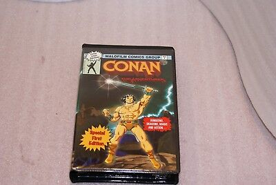 1996 Conan The Adventurer VHS Tape Malofilm Comics Hasbro RARE