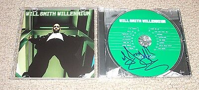 Will Smith - Willennium CD *DJ JAZZY JEFF AUTOGRAPHED* SIGNED AUTHENTIC! DJ