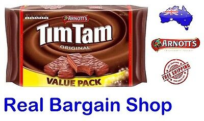 Arnotts Tim Tam Original Chocolate Biscuits Value Pack 330g