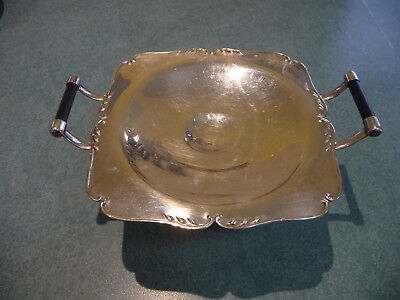 "Silver Plated Cake Stand 1930""s"