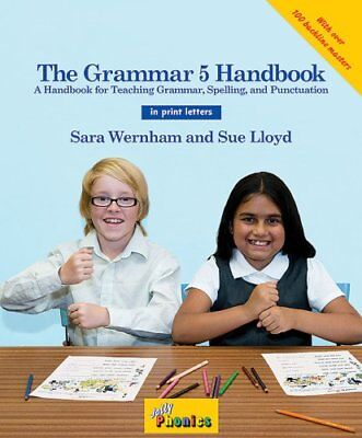 The Grammar 5 Handbook (in print letters) in Print Letters (AE) 9781844144136