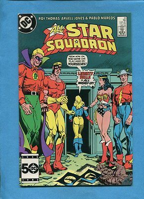 All-Star Squadron #45 Liberty Belle DC Comics May 1985