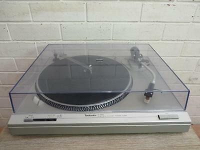 VINTAGE 1980's TECHNICS SL-D212 DIRECT DRIVE AUTOMATIC TURNTABLE STEREO SYSTEM