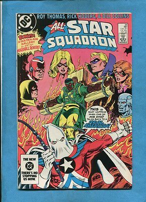All-Star Squadron #38 Amazing Man DC Comics October 1984