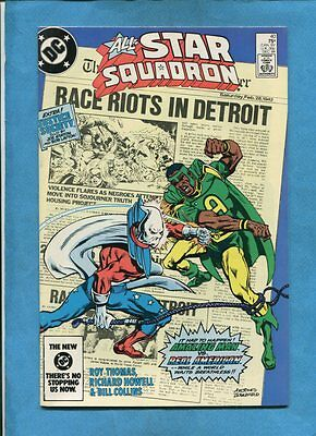 All-Star Squadron #40 Amazing Man Real American DC Comics December 1984
