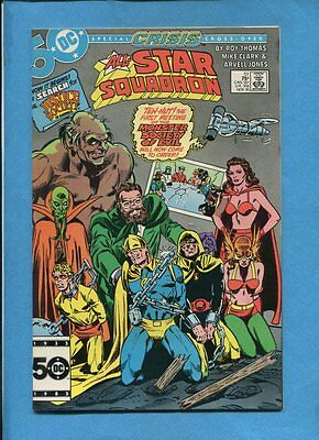 All-Star Squadron #51 JSA Monster Society Of Evil DC Comics November 1985