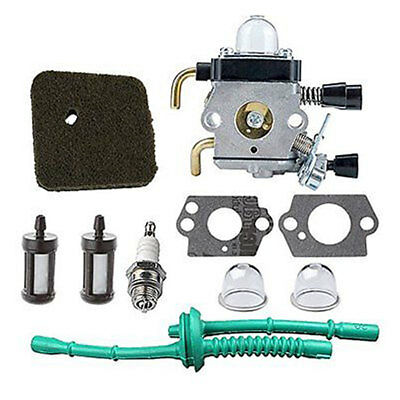 HIPA C1Q-S97 Carburetor with Air Filter Fuel Line Kit for STIHL FS38 FS45 FS4