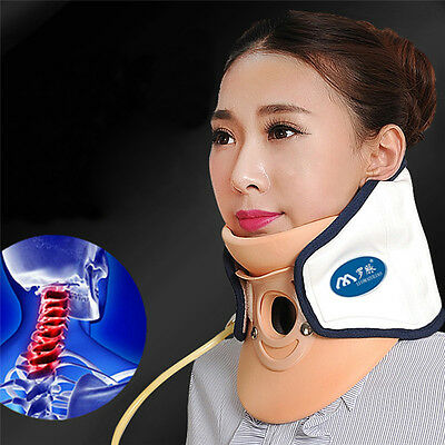 Neck Pain Rlease Massage Air Traction Neck Brace Support Therapy Healthcare