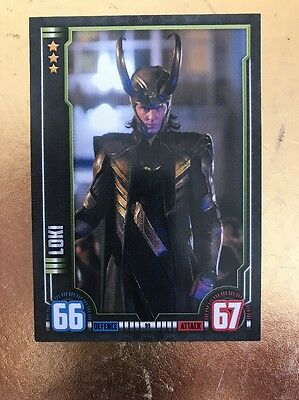 Hero Attax 2016-Marvel Cinematic Universe #99 Loki