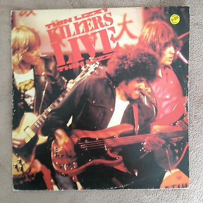 "12""  Thin Lizzy Killers Live 1981."