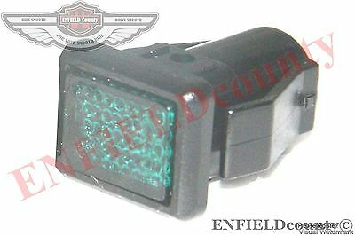 Vespa Px Mk1 Pe Early Model Green Lens Indicator Tell Tale Lamp Light @aus