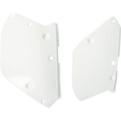 UFO NEW Mx Yamaha YZ125 YZ250 1989 1990 White Motocross Side Panels Plastics