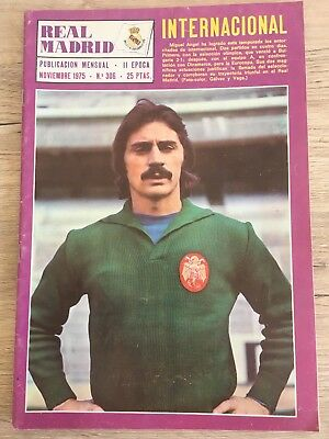 Magazine Official Derby County Real Madrid 1975 1976 Dinamo Bucaresti European