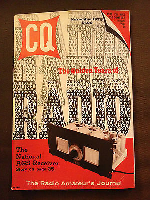 Nov 1975 Cq The Radio Amateur's Journal Vol.31 #11 - How To Get Israeli Qsl Card